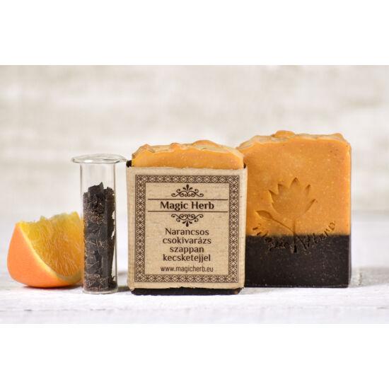 Narancsos csokivarázs szappan kecsketejjel