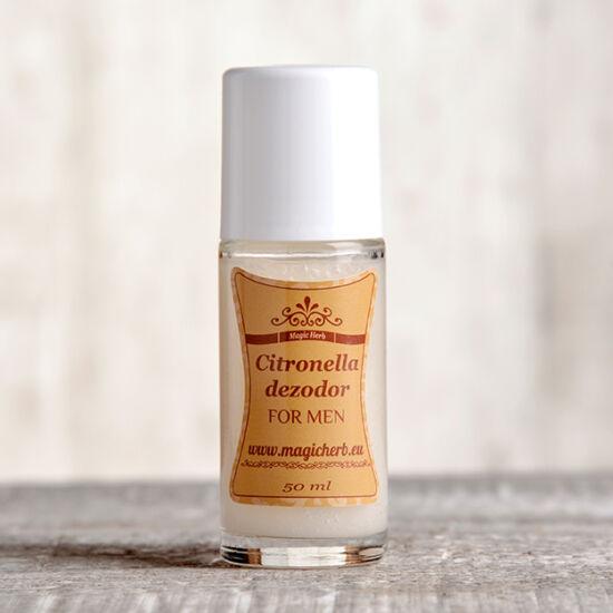 Natúr golyós dezodor férfias illattal