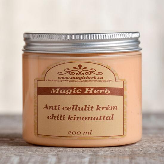 Anticellulit krém koffeinnel és chili kivonattal 200 ml