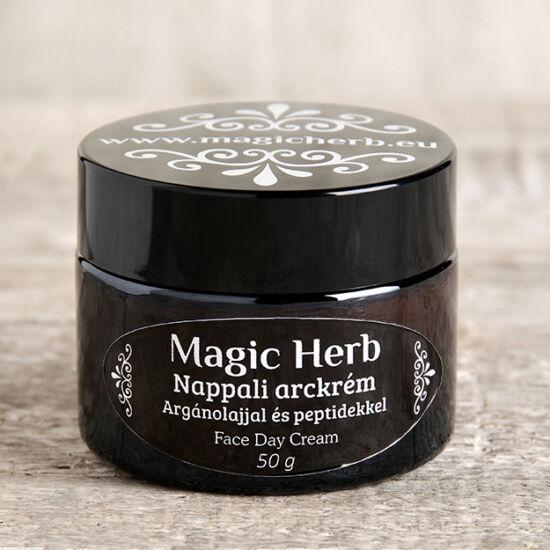 Tápláló nappali arckrém Argán olajjal és peptidekkel és  50 ml