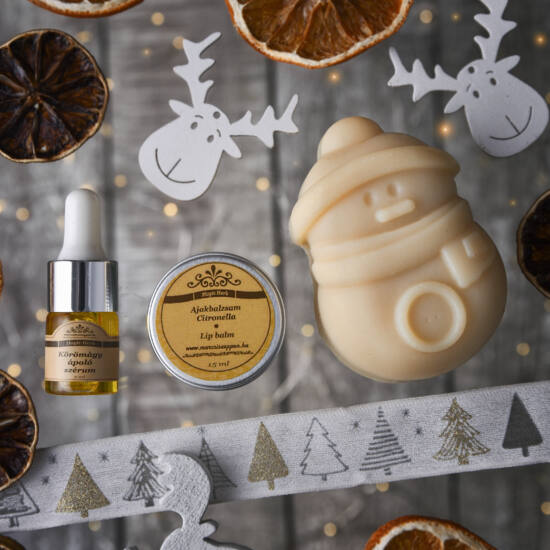 Karácsonyi összeállítás kézműves natúr kozmetikumainkból