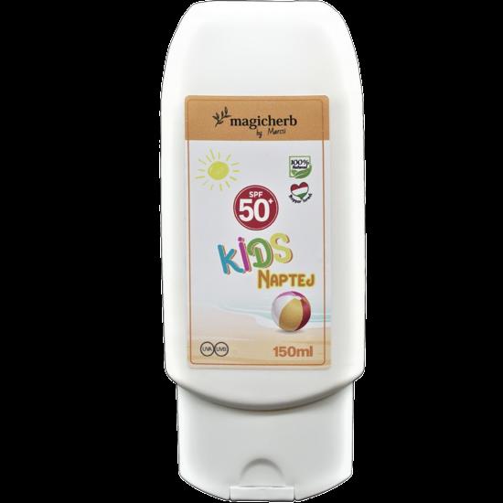 KIDS naptej SPF 50   Gyermekek és érzékeny bőrű felnőttek részére 150 ml