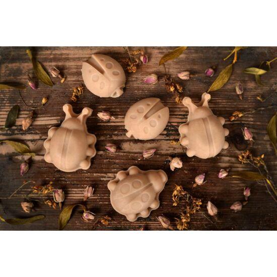 Kecsketejes natúr szappan katica