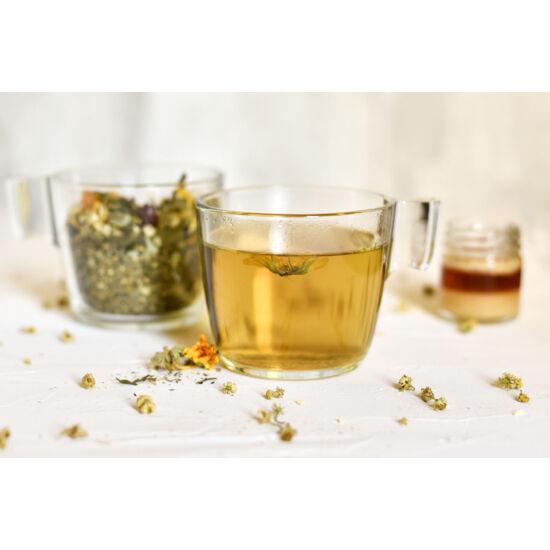 Köptető, hurutoldó teakeverék